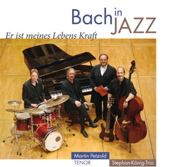 "CD ""Bach in Jazz"" Cover"
